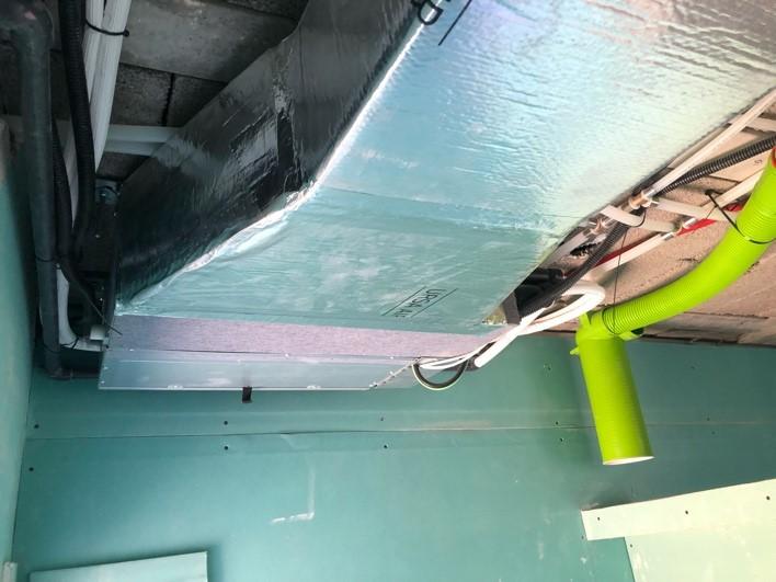 Proyecto de ventilación de doble flujo